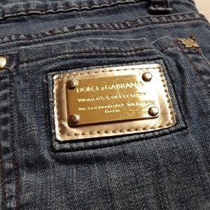 Dolce and Gabanna Gold Label Jeans Sz 36